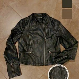 Forever21 Women's Leather Jacket